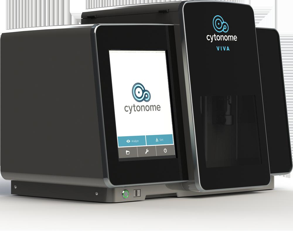 Cytonome Viva GFP cell sorter